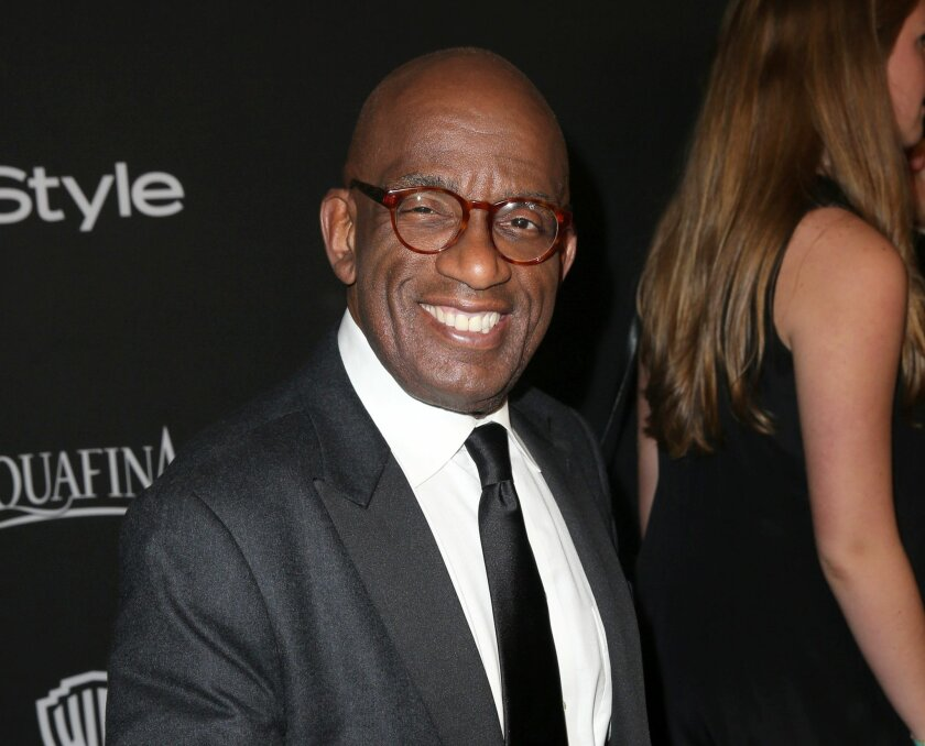 FILE - In this Jan. 11, 2015 file photo, Al Roker arrives at the 16th annual InStyle and Warner Bros. Golden Globes afterparty in Beverly Hills, Calif. plans to give reports from all 50 states within a week starting Friday. If successful, he'll try to have it certified as a Guinness World Record. (