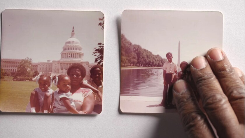 "Snapshots of director Yance Ford's family from the documentary ""Strong Island."""