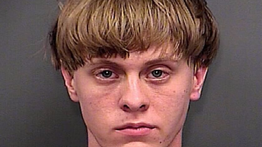 Dylann Roof in a June 18, 2015, photo provided by the Charleston County Sheriff's Office.
