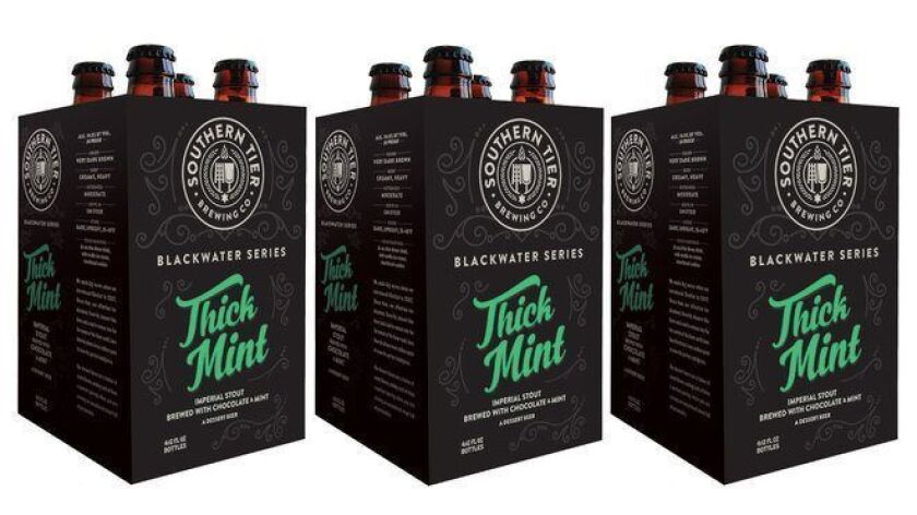Thick Mint beer from Southern Tier Brewing Company. (Courtesy photo)