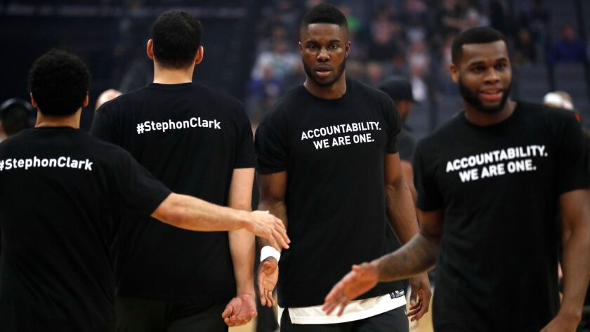 Boston Celtics at Sacramento Kings, USA - 25 Mar 2018