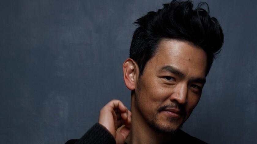 """""""Star Trek"""" star John Cho."""