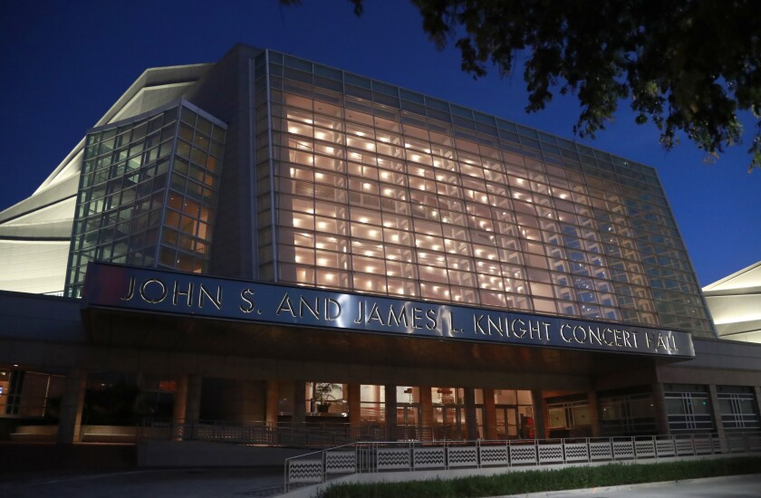The second presidential debate will be held Oct. 15 at the Adrienne Arsht Center for the Performing Arts in Miami.
