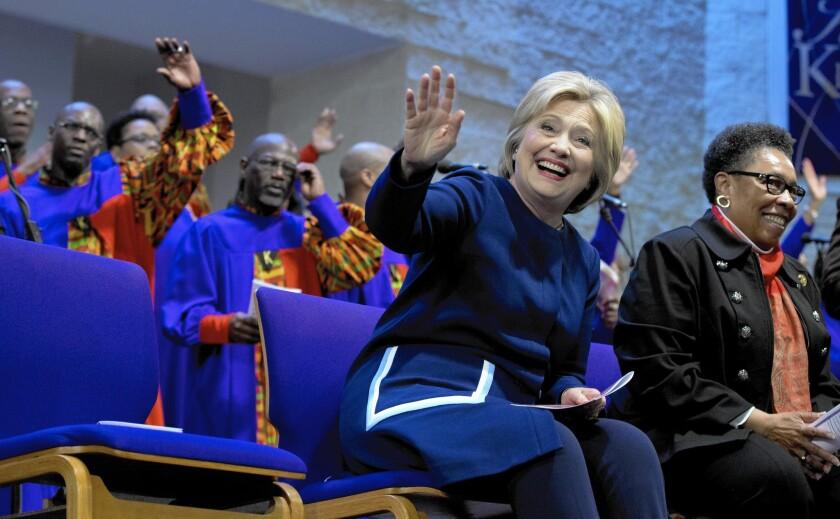 Hillary Clinton, Marcia Fudge