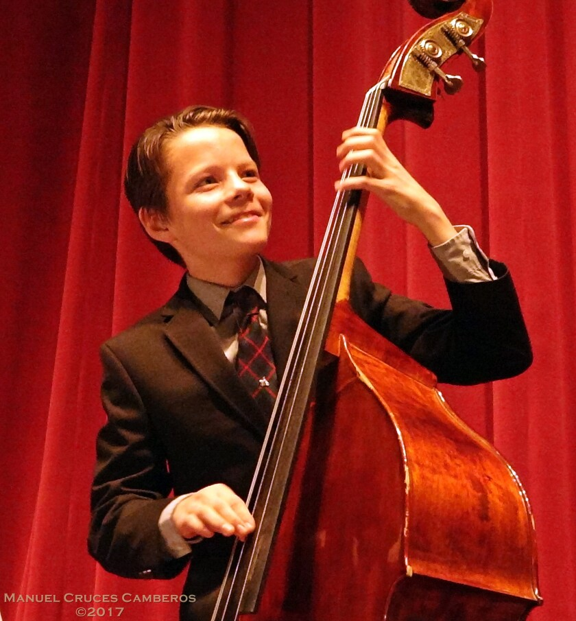 At 15, John Murray is one of San Diego's fastest-rising young jazz bassists.