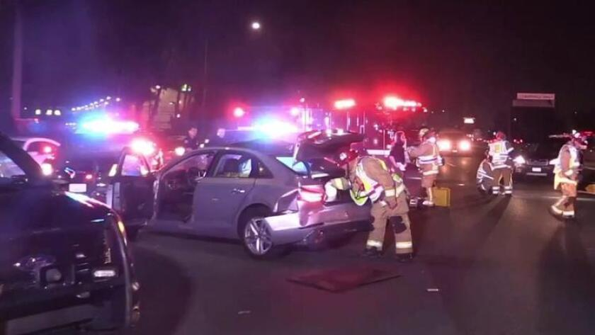 CHP seeks hit-and-run suspect after fatal crash on 405