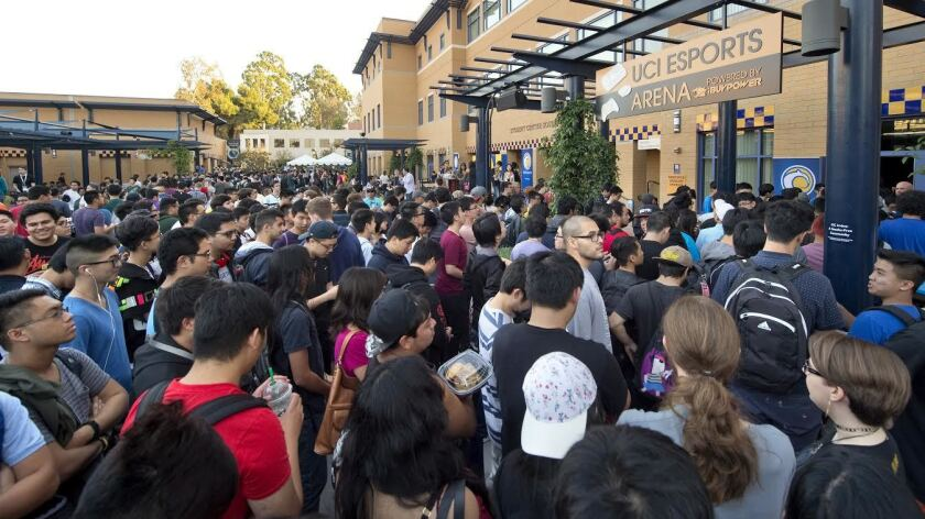 Tidal wave of enrollment hits UC San Diego, UC Irvine - The