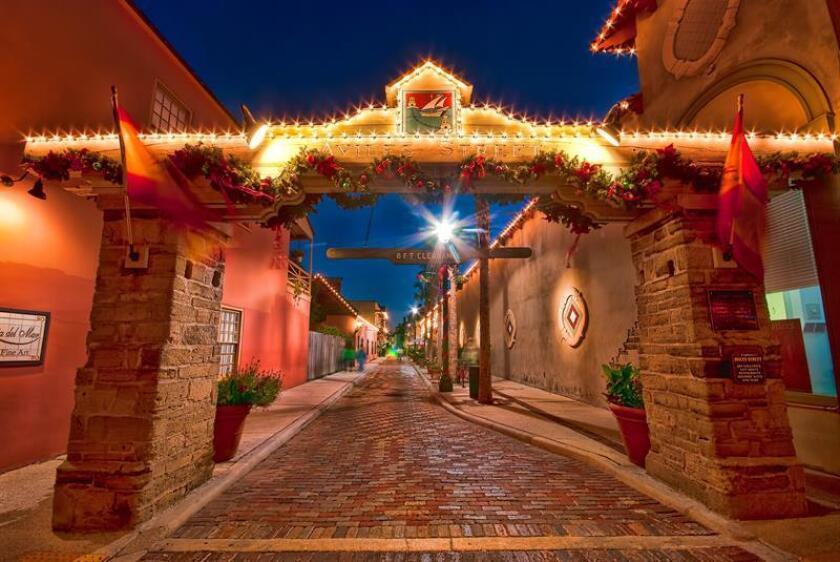 Ciudad de EEUU enciende las Noches de Luces como preludio a la época navideña