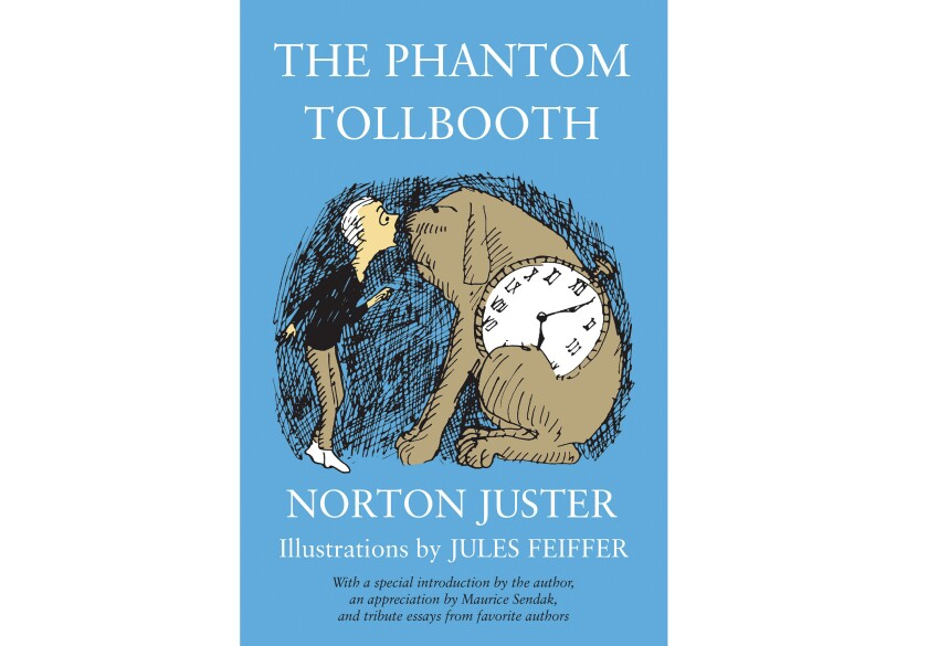 """This cover image released by Random House Children's Books shows """"The Phantom Tollbooth"""" by Norton Juster."""