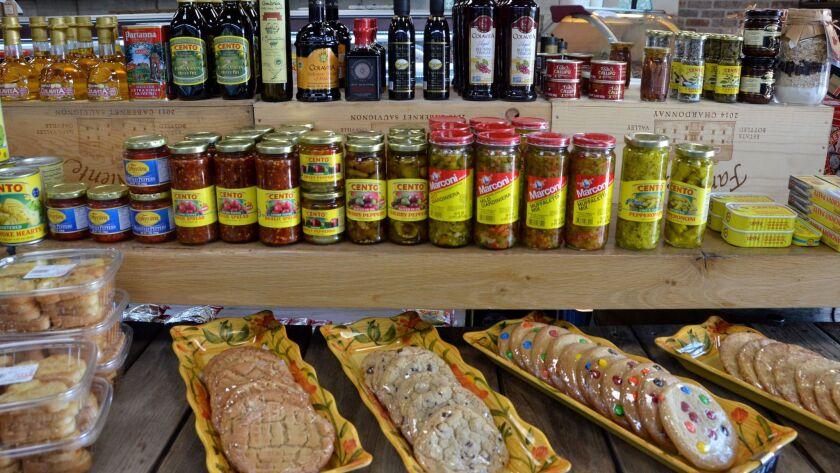 Filomena's Italian Market stocks all things Italian, from pasta entrees to desserts to specialty gro