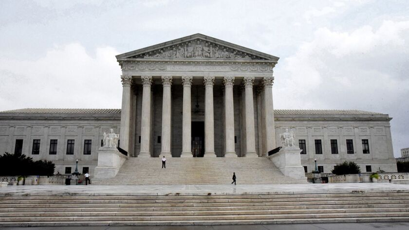 The Supreme Court of the United States in Washington, D.C., on September 25, 2018. (Olivier Douliery