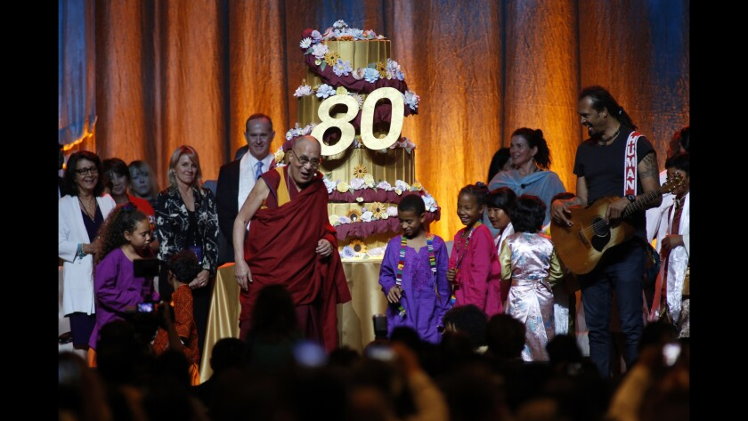 The Dalai Lama in Anaheim