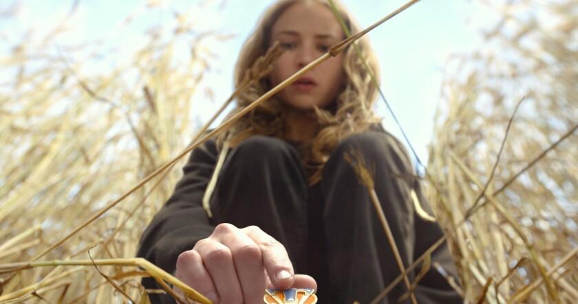 "Casey (Britt Robertson) in Disney's ""Tomorrowland."""