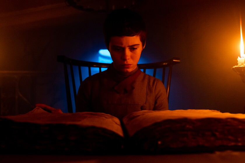 Sophia Lillis in the movie 'Gretel & Hansel'