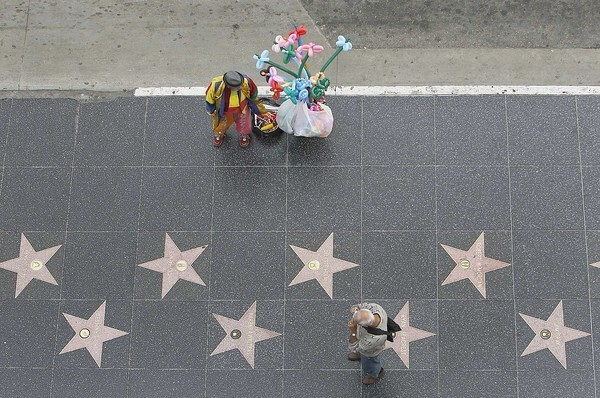 The Hollywood Walk of Fame