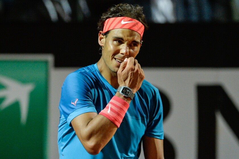 Rafael Nadal Loses Again On Clay Falls In Italian Open Quarterfinals Los Angeles Times