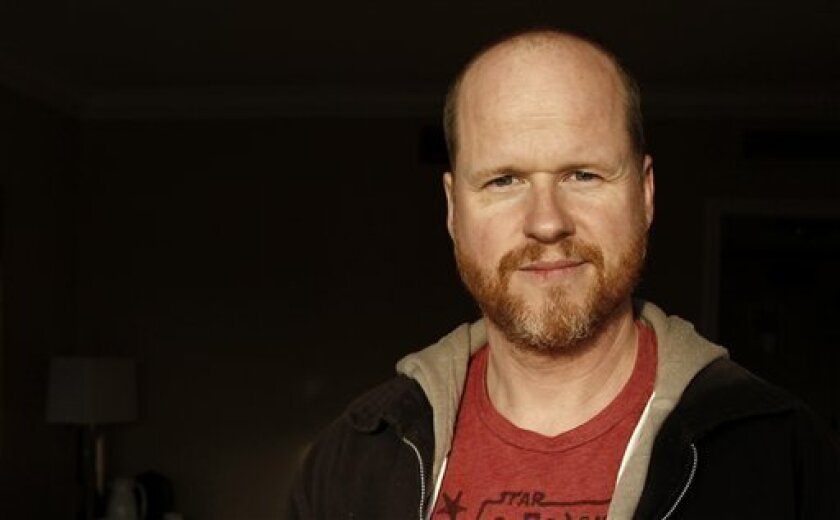 Joss Whedon in a 2012 file photo. (AP Photo/Matt Sayles, File)
