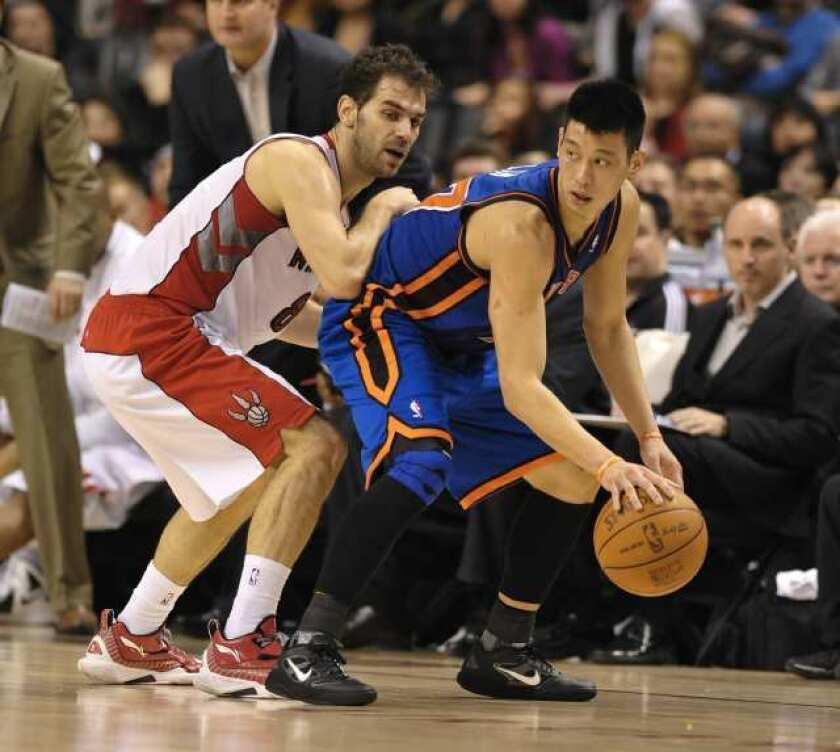 timeless design 85c04 7d6ab Knicks' Jeremy Lin inspiring a crush of entrepreneurs - Los ...
