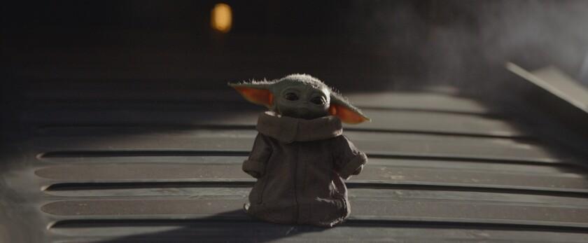 """En esta imagen difundida por Disney Plus, una escena de """"Star Wars: The Mandalorian""""."""