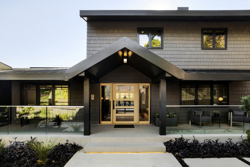 Our newly built Home of the Week in the Hollywood Hills is a modern interpretation of the Craftsman style.