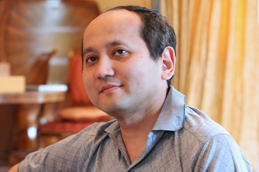 A French court ruling paves the way for the extradition of Kazakh billionaire Mukhtar Ablyazov, seen in an August 2010 photograph provided by his daughter Madina.