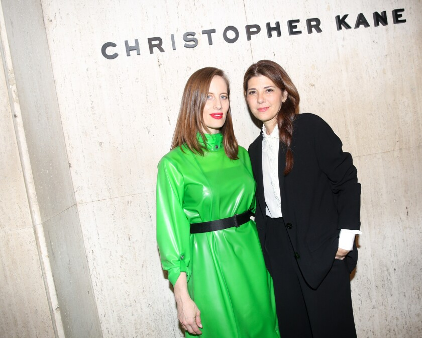 Christopher Kane Party: at Giorgio's