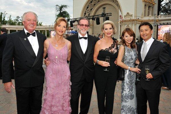 Duane and Stella Dier, Dr. Steve and Lynne Wheeler, M.J. and Dr. John Seul