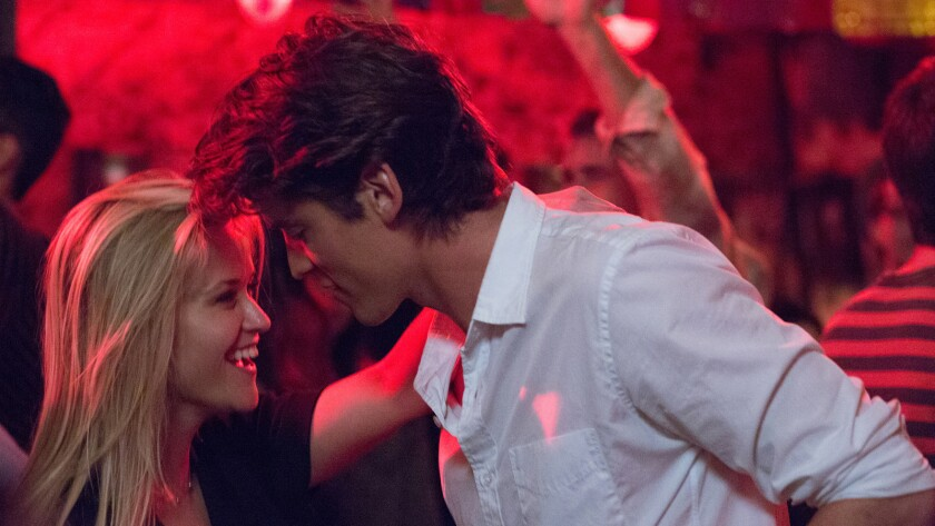 "Reese Witherspoon and Pico Alexander in the movie ""Home Again."""