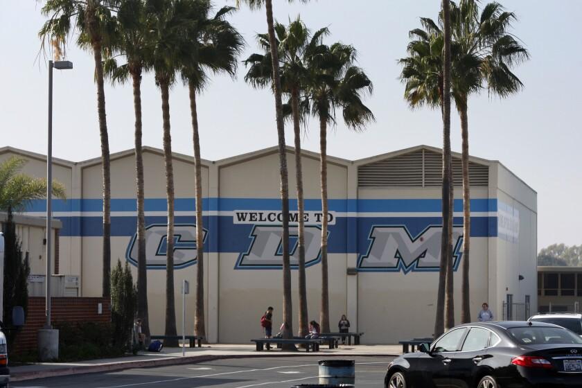 Corona del Mar High School in Orange County on Jan. 29.