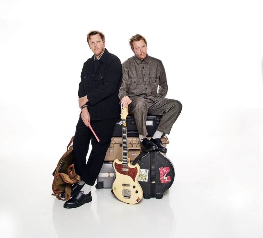 The Mattson 2 teams identical twin brothers Jared (left) and Jonathan Mattson. The two first teamed up in their mid-teens and have been making music together ever since, as well as earning multiple college degrees.