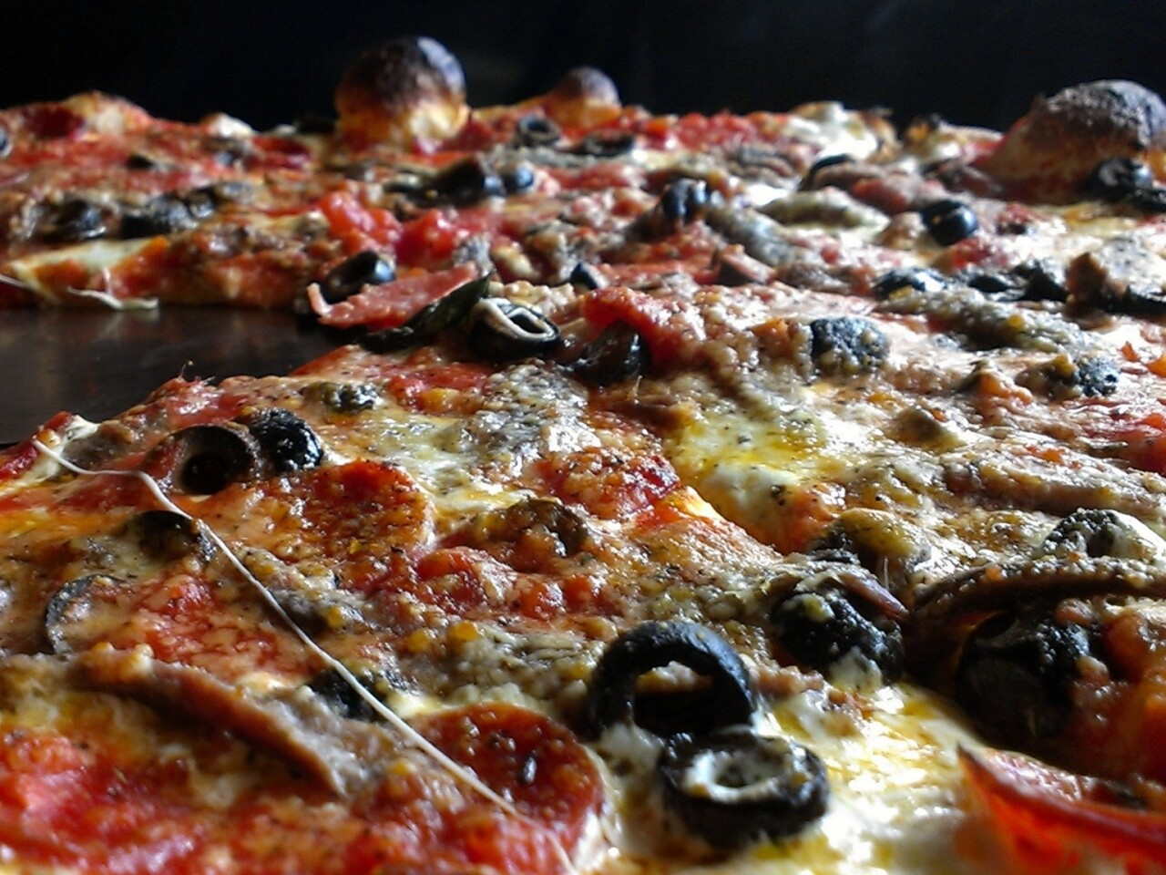 Grimaldi's in El Segundo serves New York-style pizzas from its coal-burning oven.