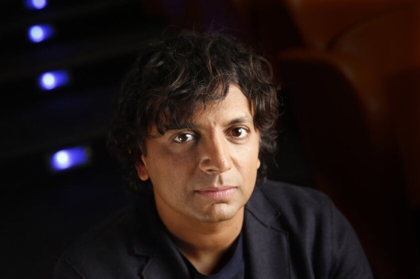 "Writer-director M. Night Shyamalan has a new movie out called ""Split."""