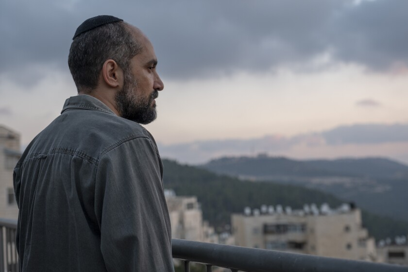 """Shlomi Elkabetz in """"Our Boys,"""" HBO's new miniseries about the Israeli/Palestine conflict"""
