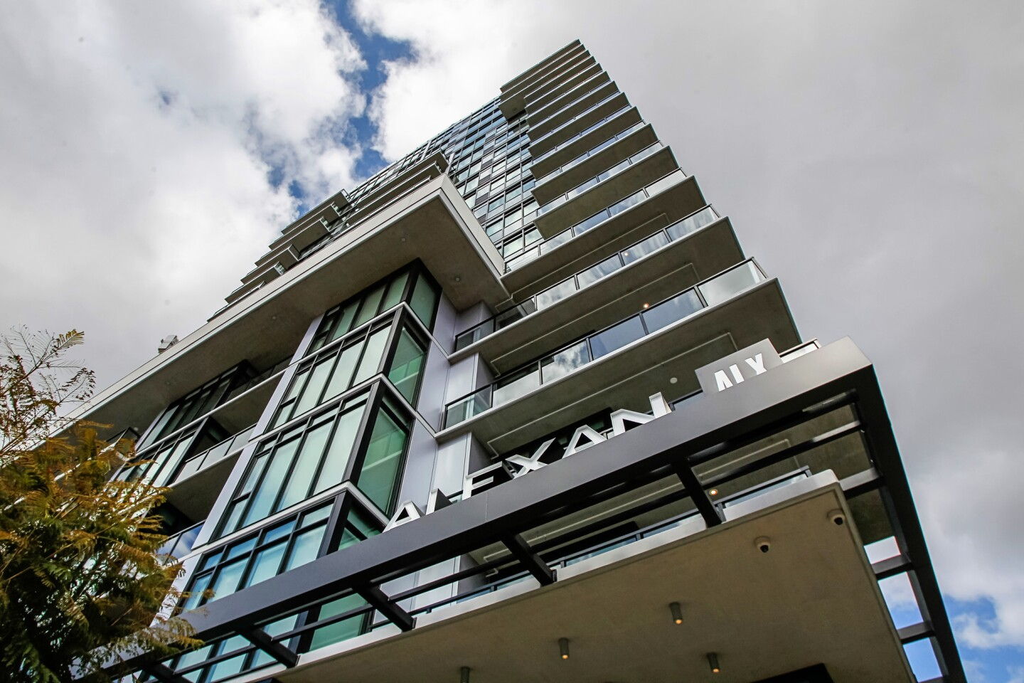The Alexan ALX luxury apartments at 14th and K Streets.