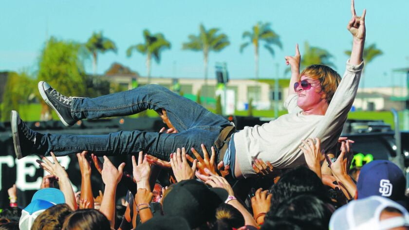 The Vans Warped Tour brings a full day of punk and high energy bands to San Diego for the final time.