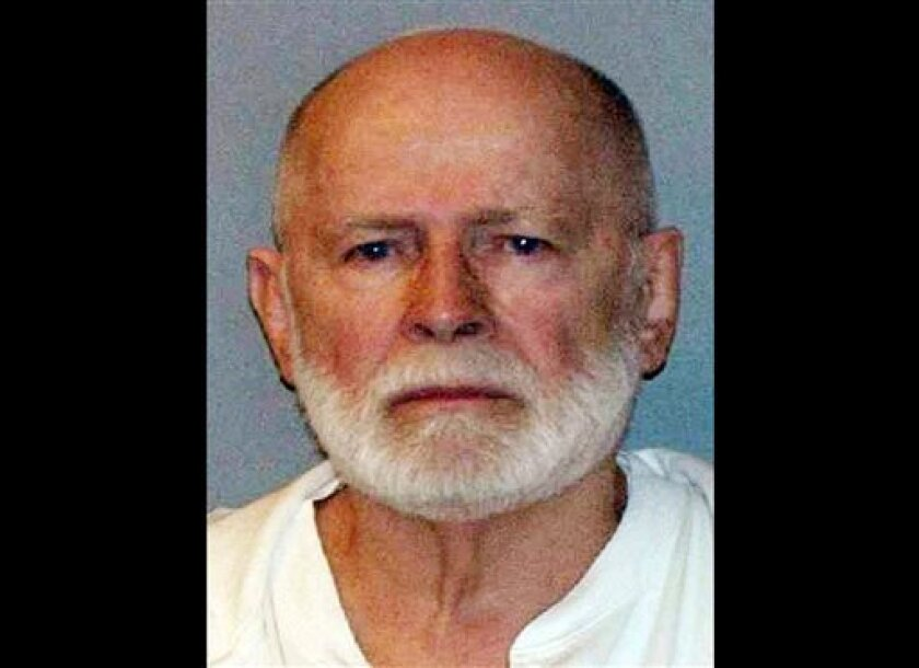 """FILE - This June 23, 2011 booking photo provided by the U.S. Marshals Service shows James """"Whitey"""" Bulger, who fled Boston in 1994 and wasn't captured until 2011 in Santa Monica, Calif., after 16 years on the run. Bulger's defense team is expected to call its final witnesses Friday, Aug. 2, 2013 during his trial in federal court in Boston. Bulger, 83, is accused of participating in 19 murders in the 1970s and '80s while leading the Winter Hill Gang. He has pleaded not guilty. (AP Photo/ U.S. Mar"""