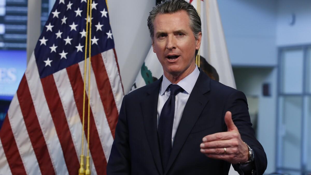 Newsom joins states seeking $1 trillion in coronavirus relief ...