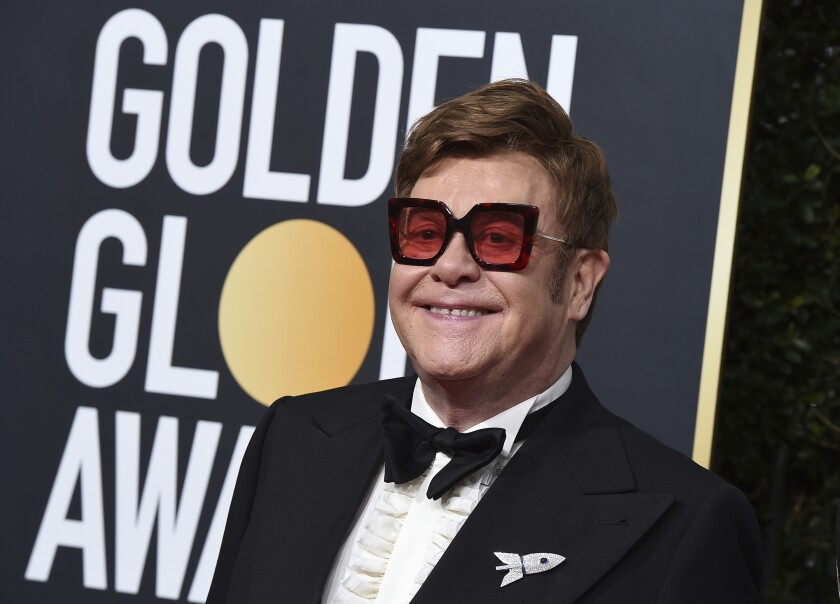 Elton John-Pneumonia
