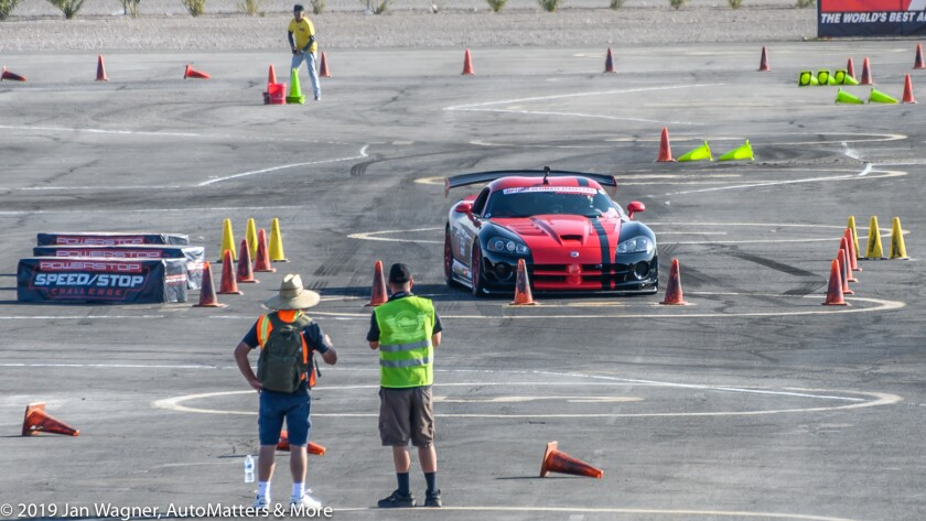 Dodge Viper at the Speed Stop Challenge
