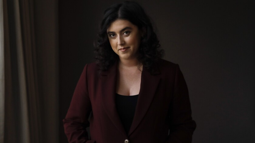 LOS ANGELES, CA-MARCH 20, 2019: Alison Klayman, whose film ?The Brink,? about Trump insider Steve Ba