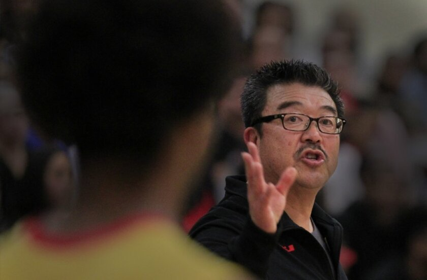 Forerm Fairfax Coach Harvey Kitani has Rolling Hills Prep in the 5AA championship game.