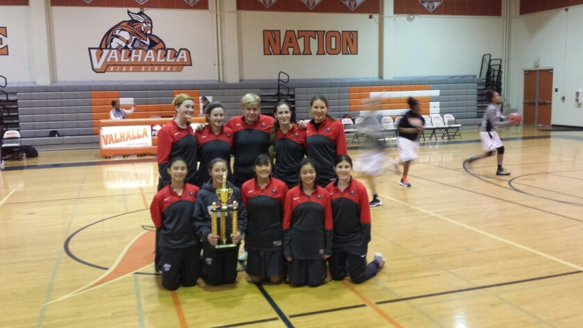 Canyon Crest Academy Girls Varsity came in second place in the Prep Division at the SoCal Holiday Classic.