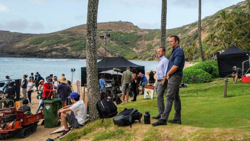Here's where you're likely to see the filming of 'Hawaii