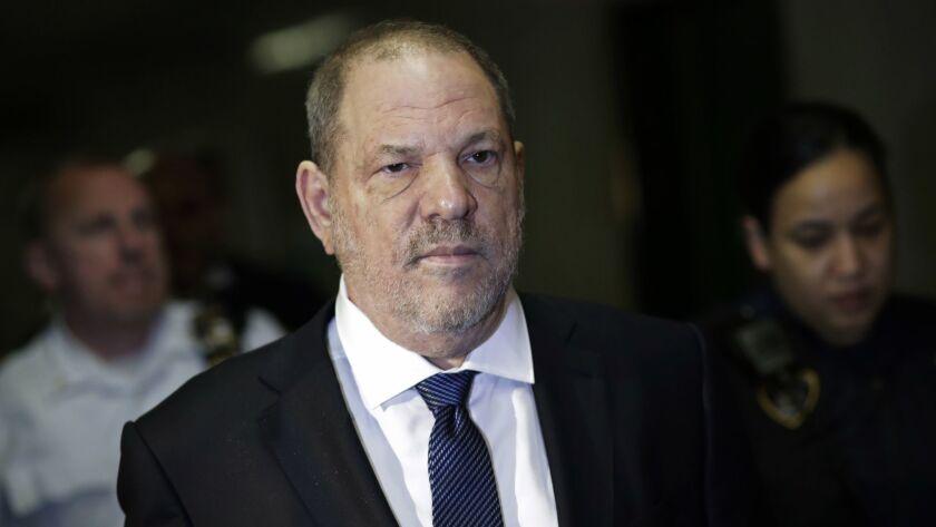 Harvey Weinstein in court in 2018.