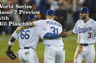 Here it is, Game 7, and Bill Plaschke knows who wins