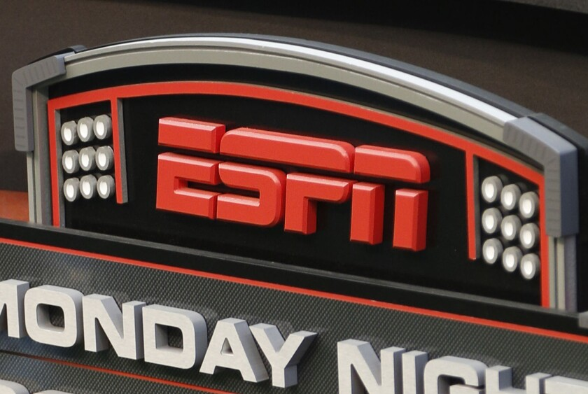 Disney's ESPN confirmed it is cutting about 300 jobs, or 4% of its staff, amid signs that the traditional cable bundle is less far-reaching than it was.