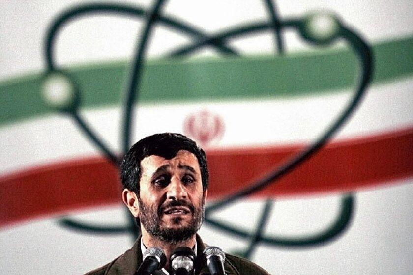 Iranian President Mahmoud Ahmadinejad's term is nearing its end.