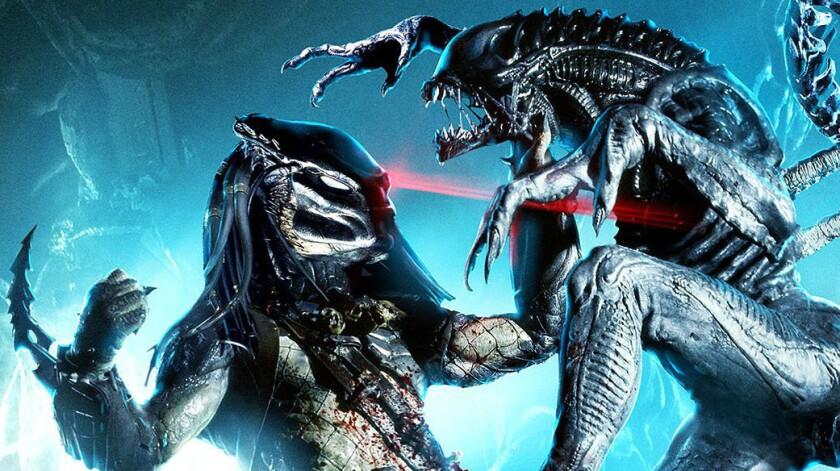 AVP: Alien vs. Predator maze joins Halloween Horror Nights 2014 at Universal Studios Hollywood.