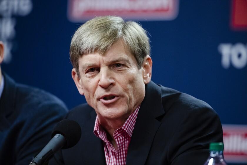 Philadelphia Phillies managing partner John Middleton.