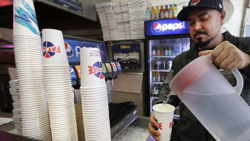 Berkeley's fee on disposable cups is part of an effort to eliminate restaurant waste.